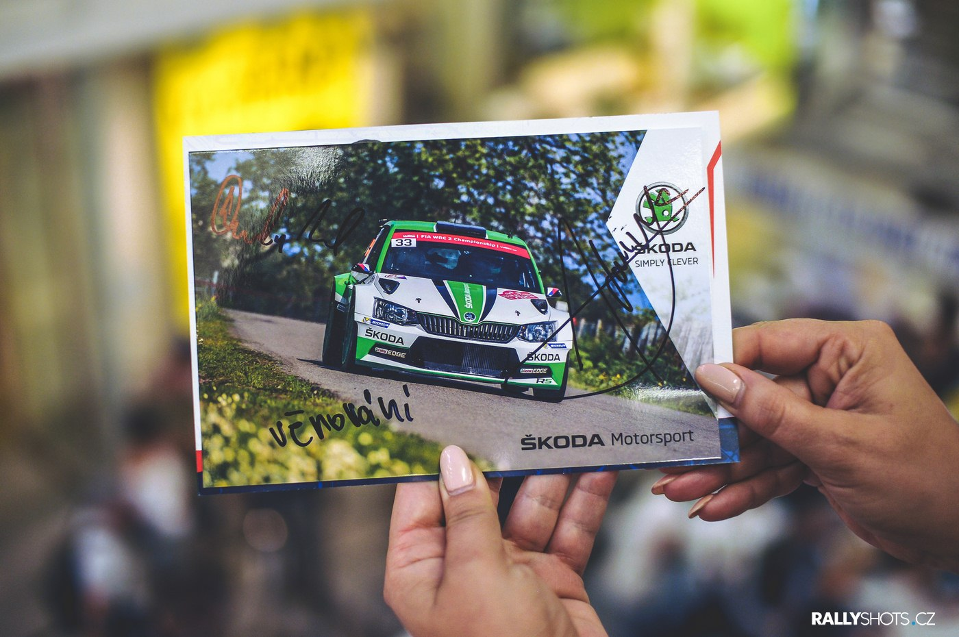 BARUM CZECH RALLY 2017 - AUTOGRAPH SESSION