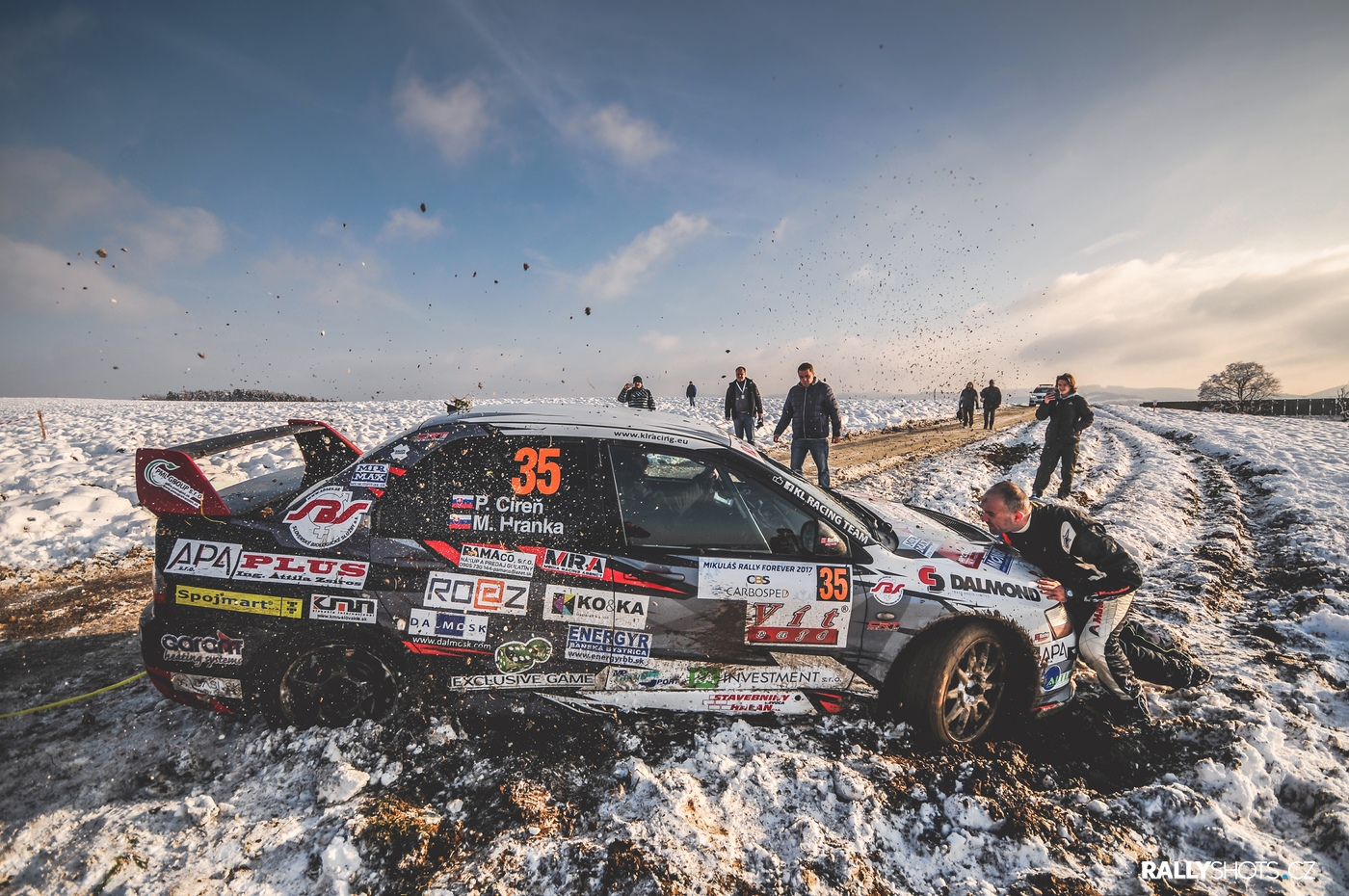 Mikuláš Rally forever Slušovice 2017
