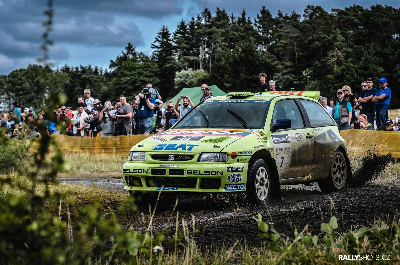 Eifel Rallye Festival 2019 Erwin Weber Seat Ibiza