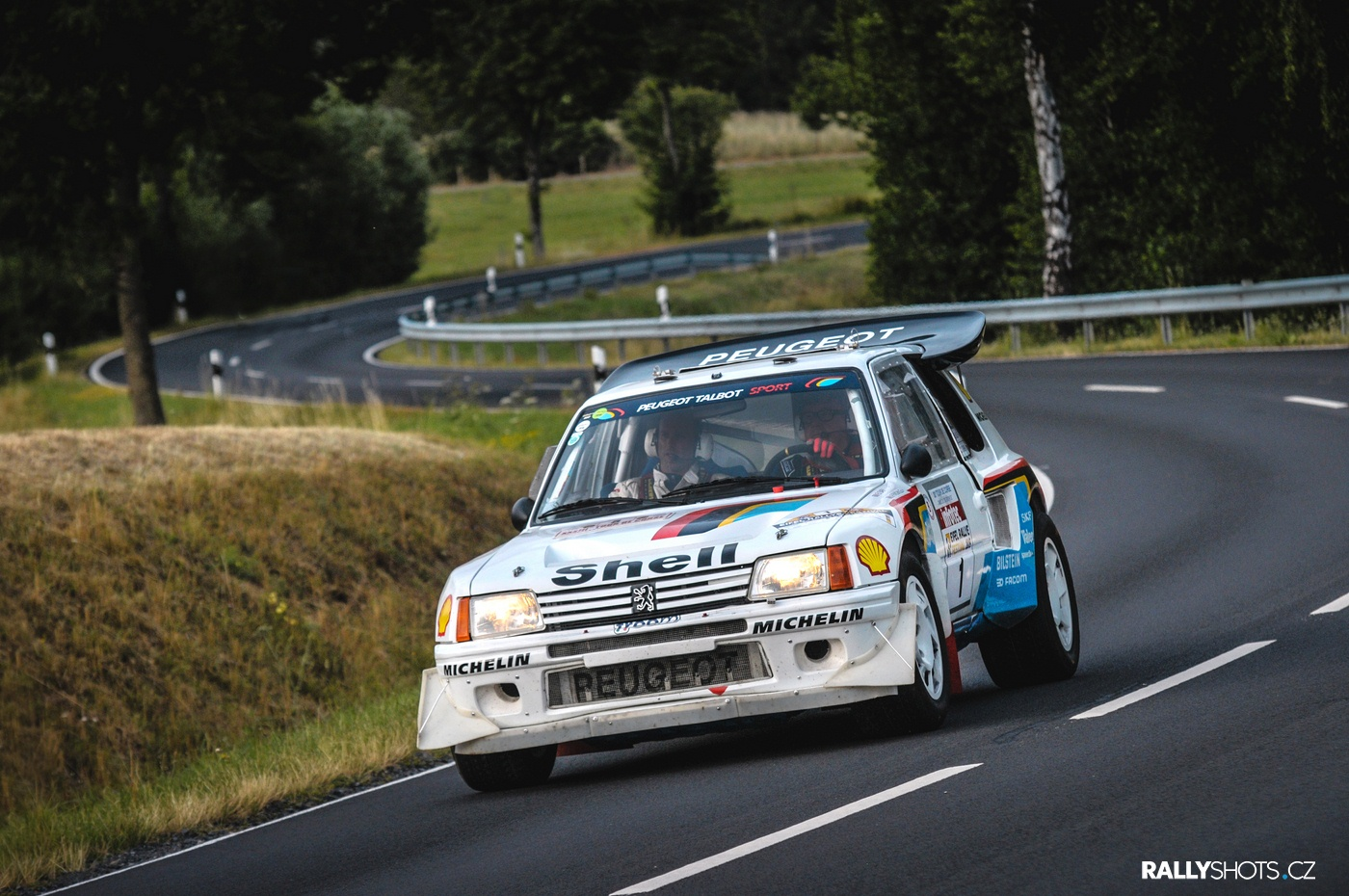 Eifel Rallye Festival 2019 Timo Salonen Peugeot