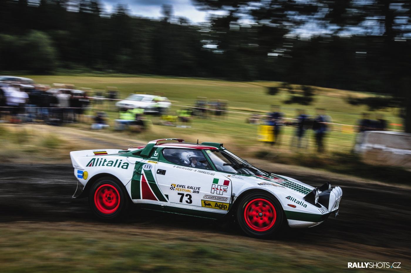 Eifel Rallye Festival 2019 Lancia Stratos Alitalia