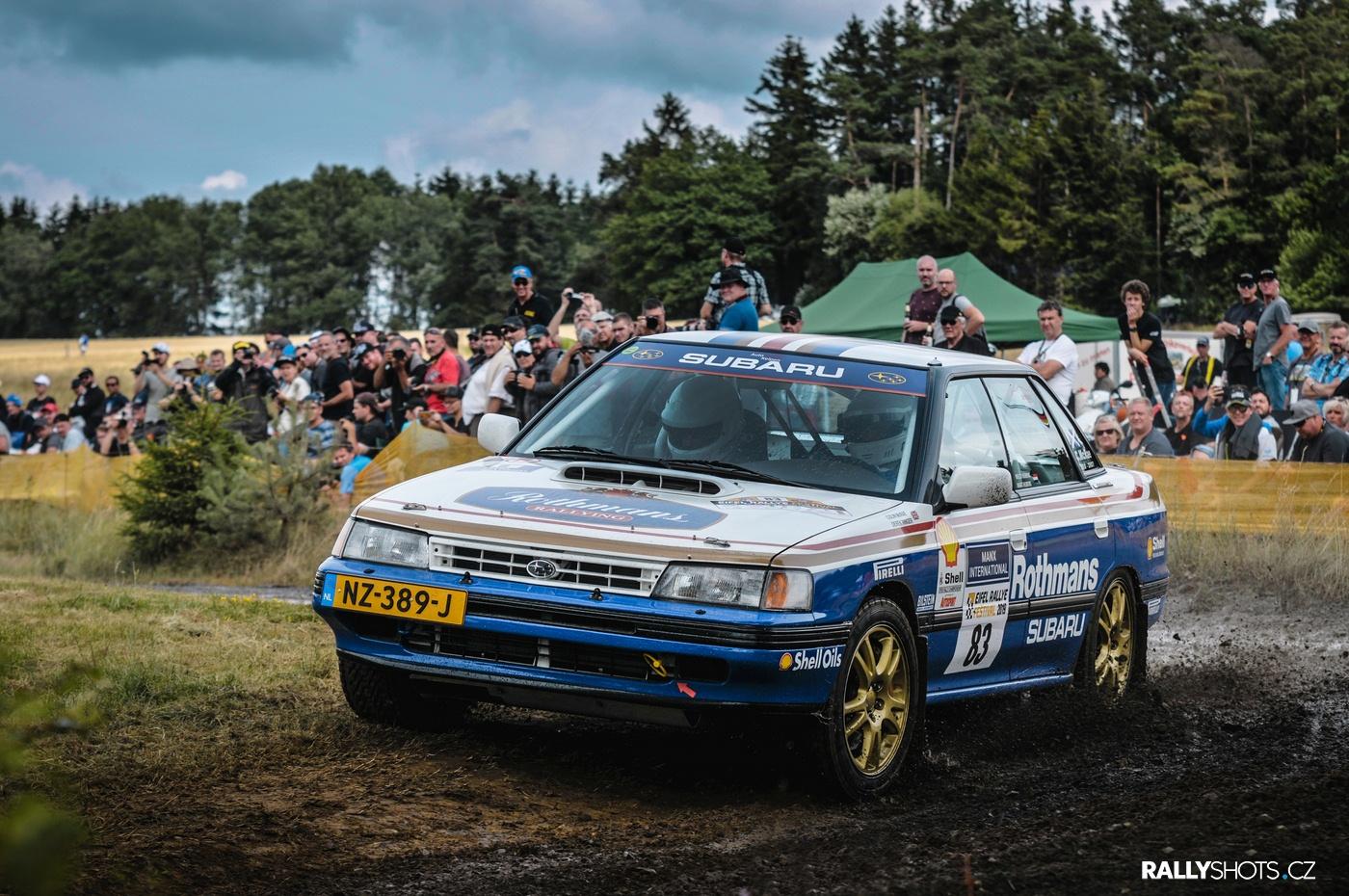 Eifel Rallye Festival 2019 Wilco Hubens Subaru Legacy