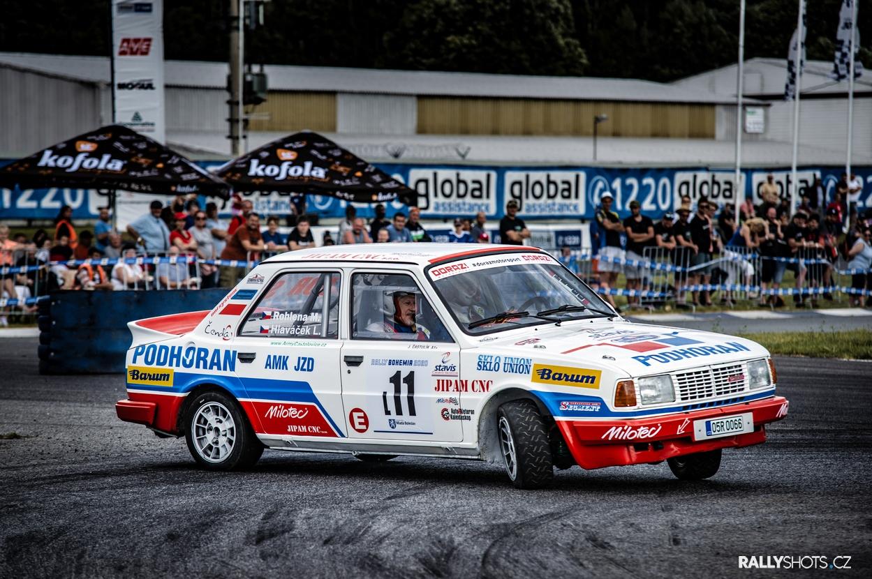 Rally Bohemia 2020 - Rohlena/Hlaváček