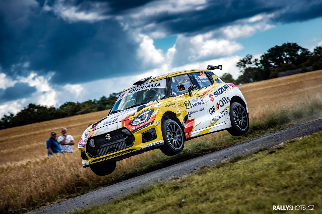 Rally Bohemia 2020 - Madsen Suzuki Swift