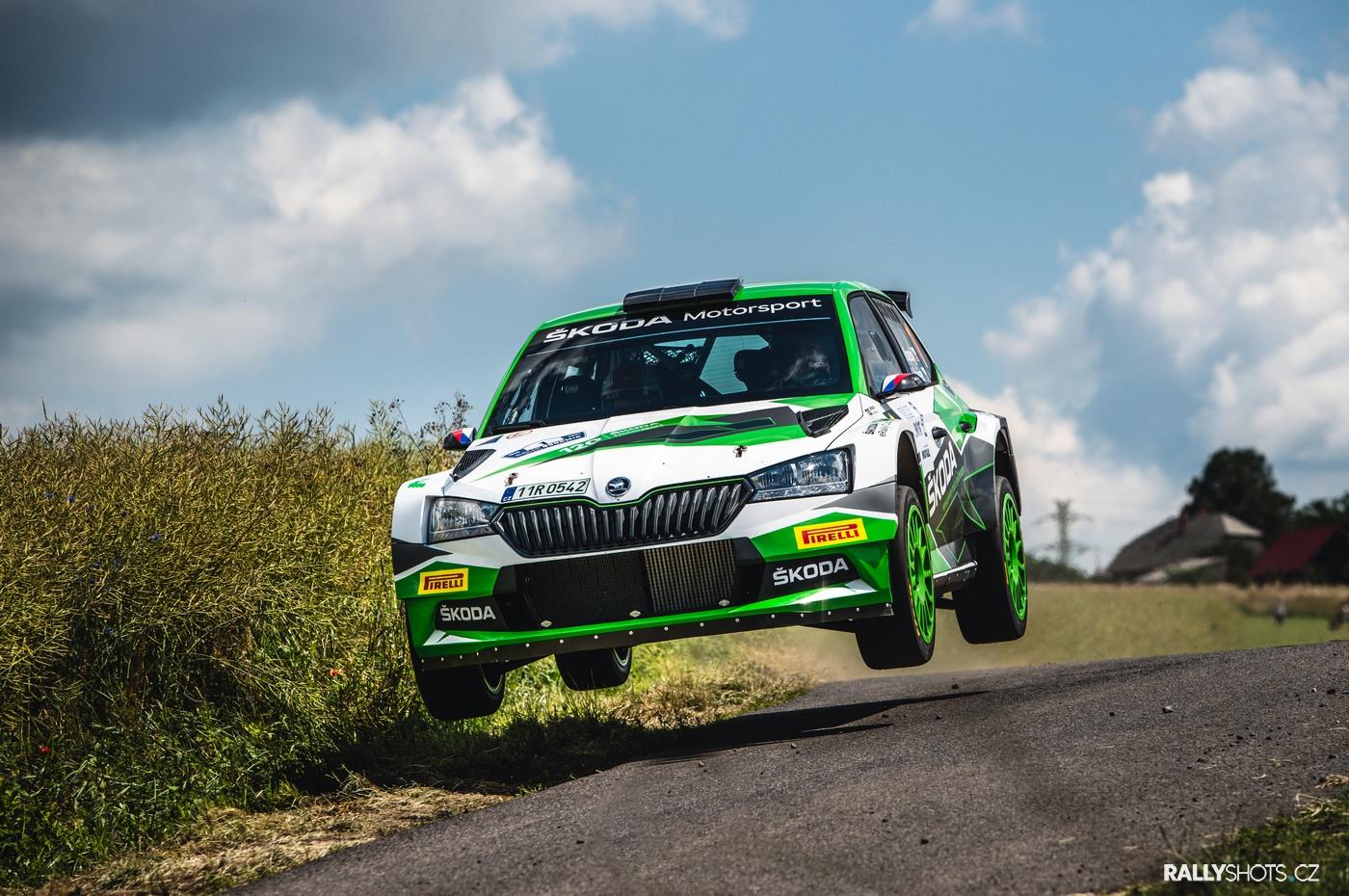Kopecký-Hloušek / Škoda Fabia Rally2 evo